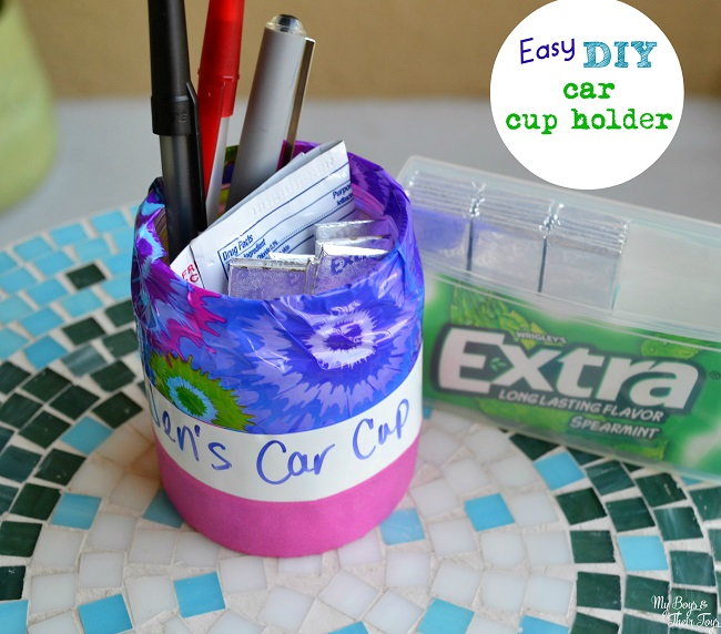 Washi Tape DIY Cup Holder