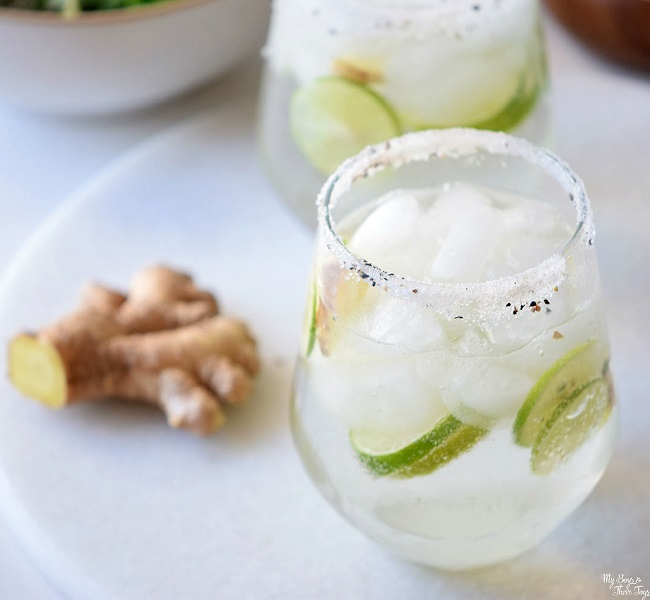 Ginger Lime Spicy Spritzer2