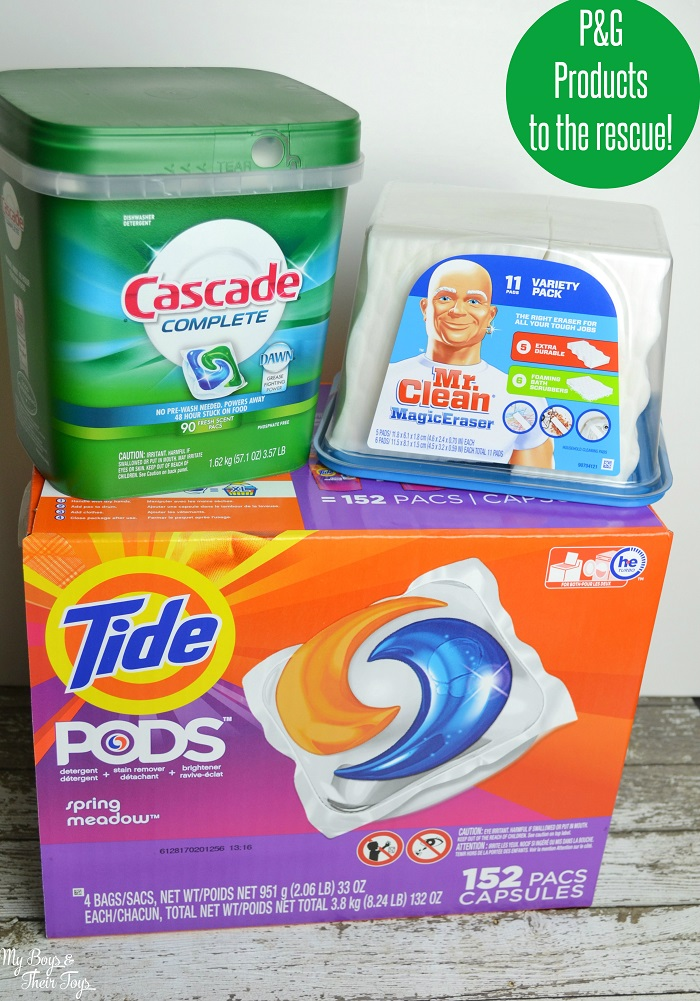 P&G Cleaning products