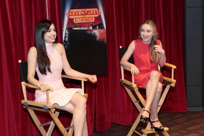 Sofia Carson and Sabrina Carpenter