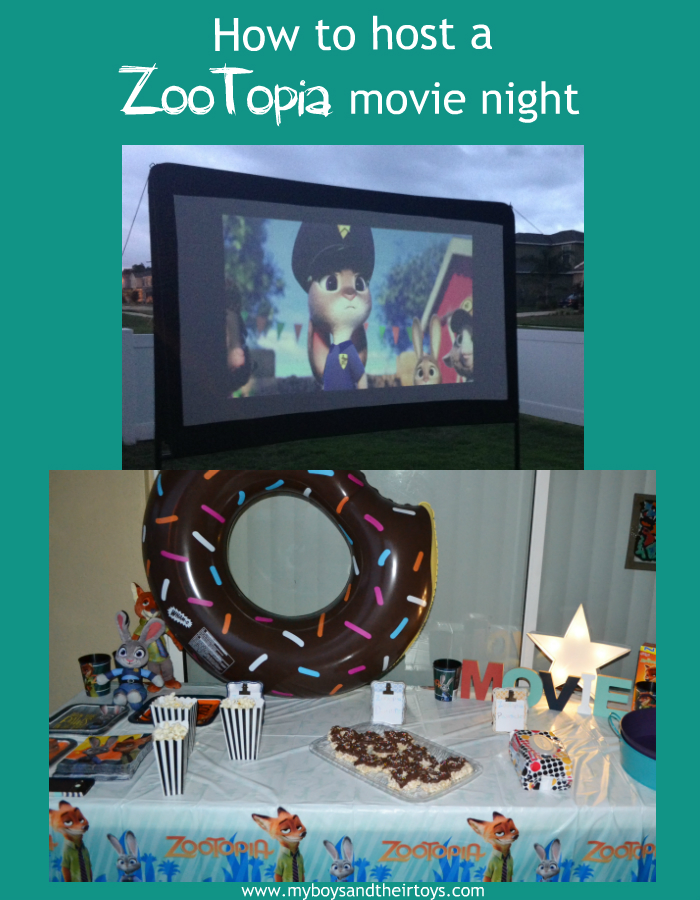 outdoor movie night
