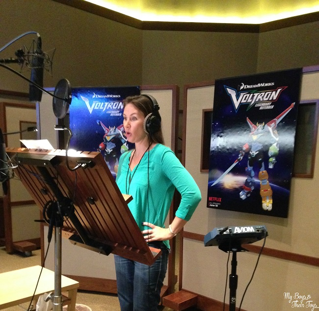 voice over Voltron