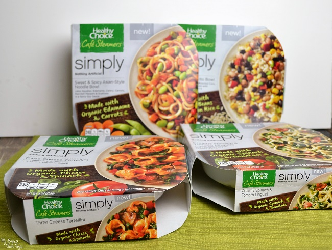Healthy Choice Simply Cafe Steamers