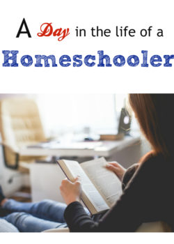 a day in the life of a homeschooler