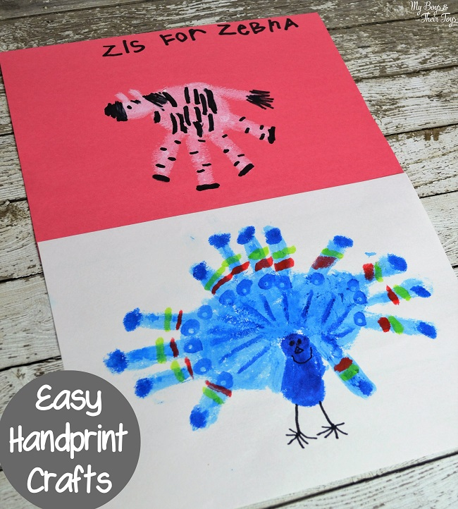 easy handprint crafts