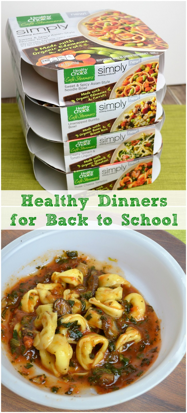 healthy meals for back to school