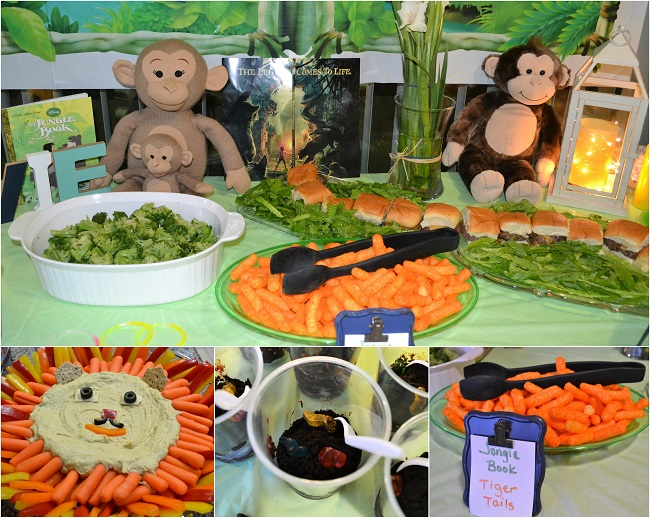 the jungle book party food
