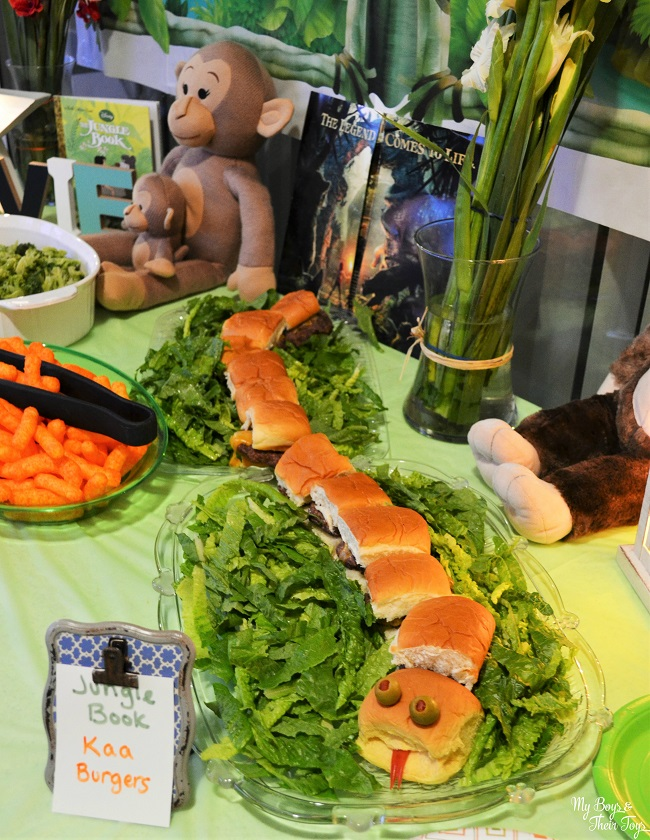 the jungle book snake sandwich