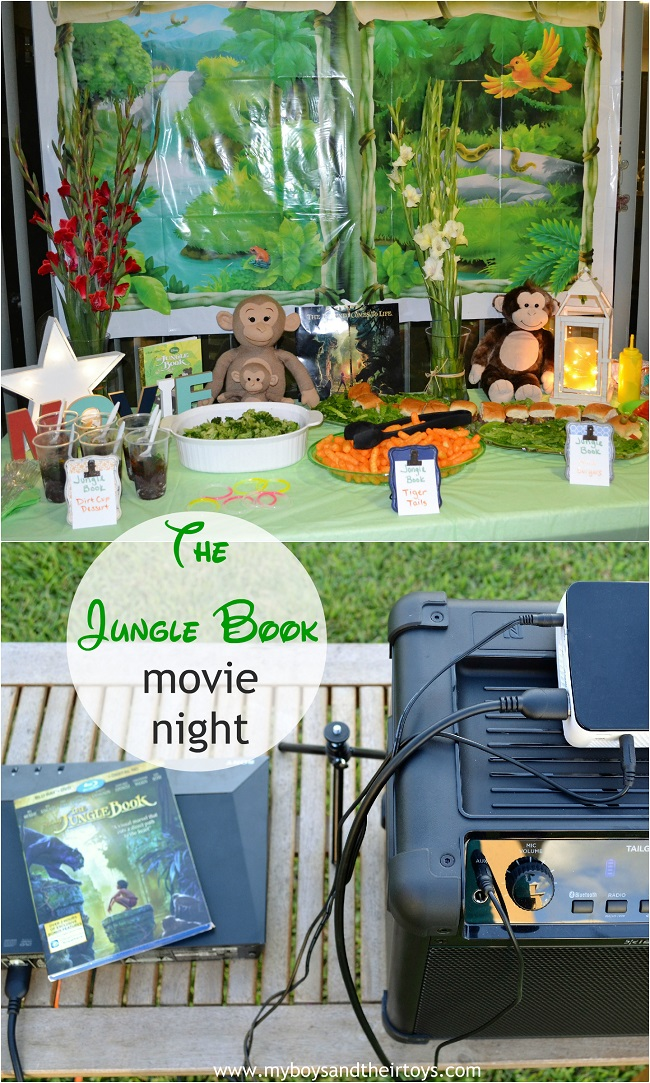 jungle book movie night