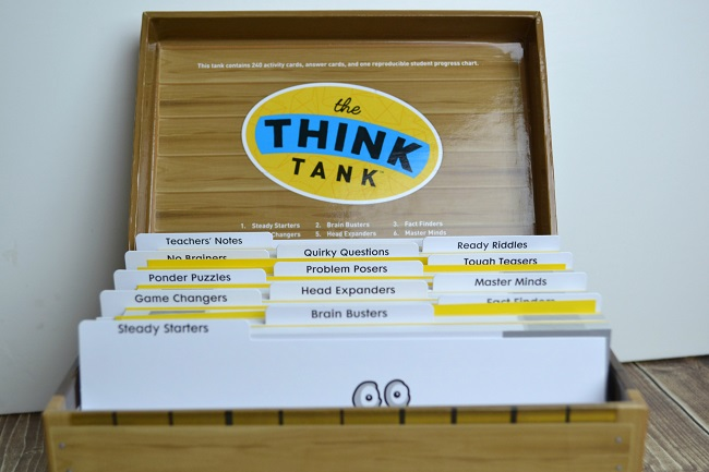 think tank activity cards