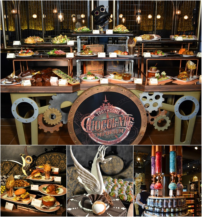 The Toothsome Chocolate Emporium Savory Feast Kitchen
