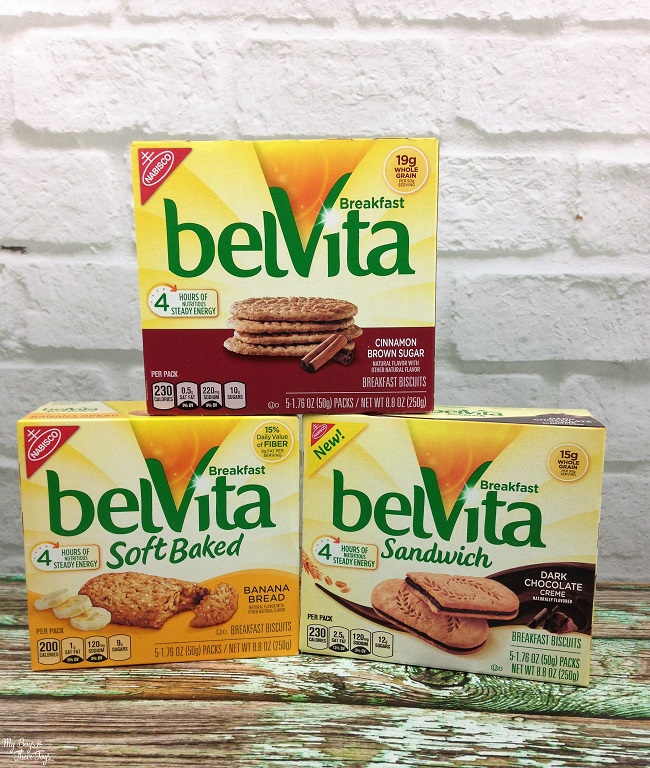 grab go breakfast belvita