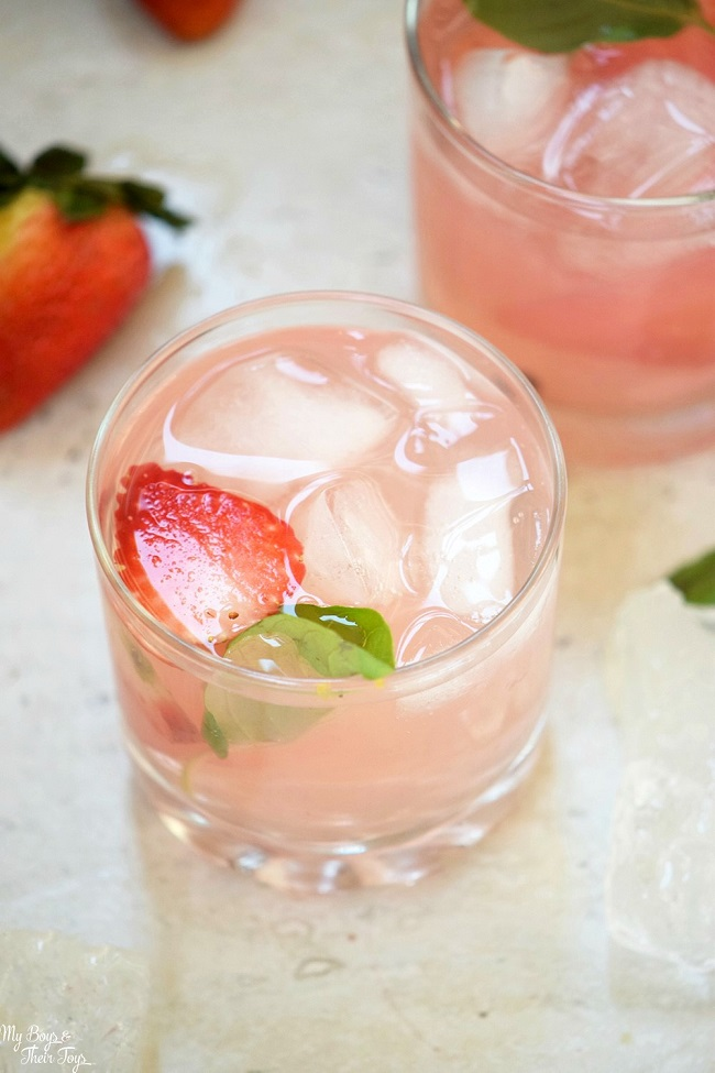 Strawberry Cheesecake Mocktail