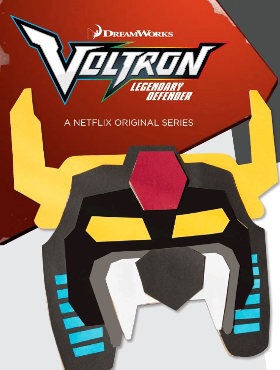voltron mask printable