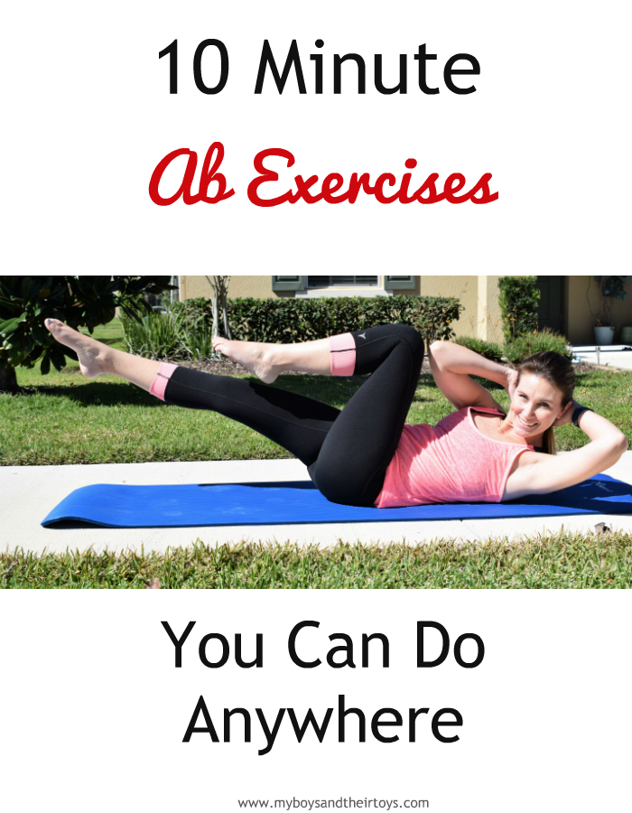 10 minute ab exercises