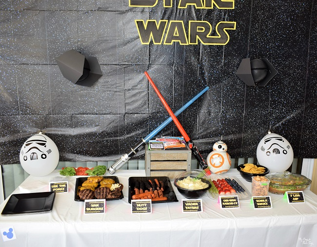 Kids Star Wars Party Ideas