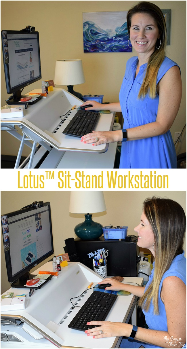 Sit Stand Desk Top Workstation