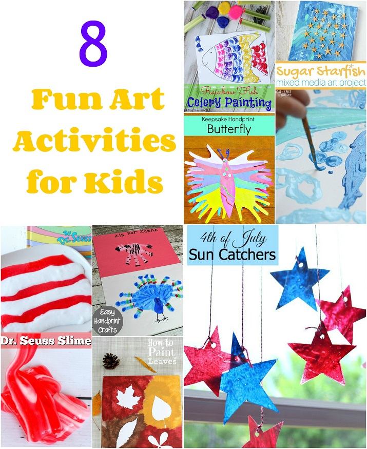8 fun art activities for kids