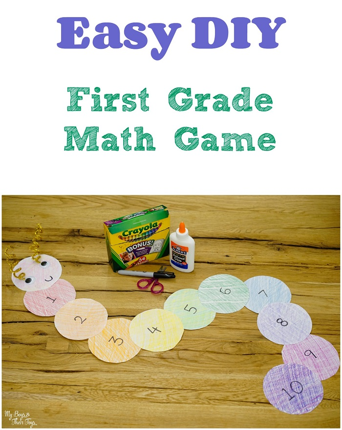 diy first grade math