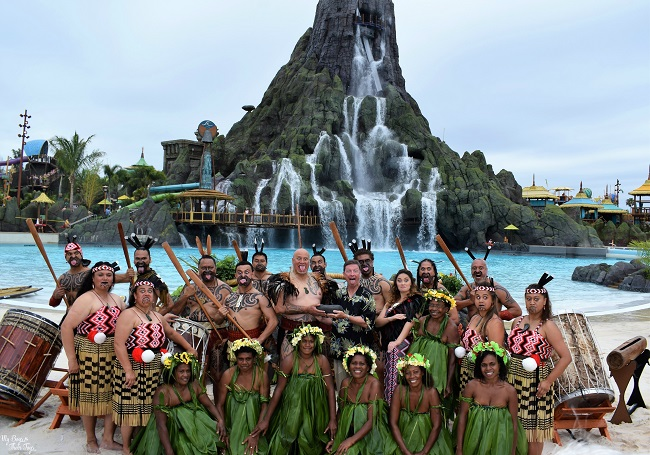 opening ceremony volcano bay
