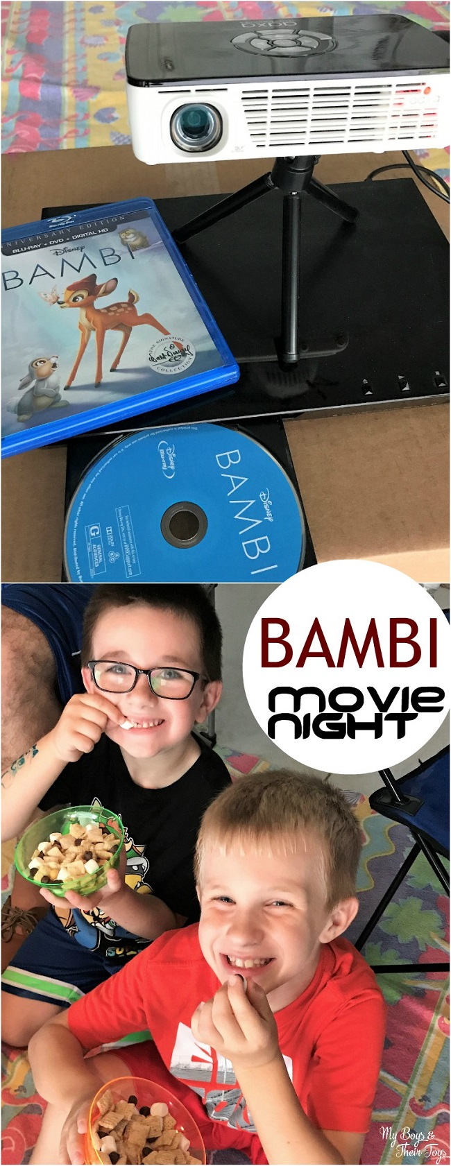 bambi movie night