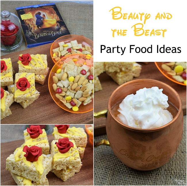 beauty and the beast food ideas