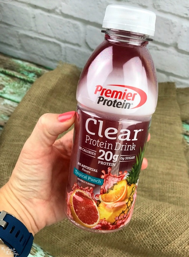 premier protein clear tropical punch