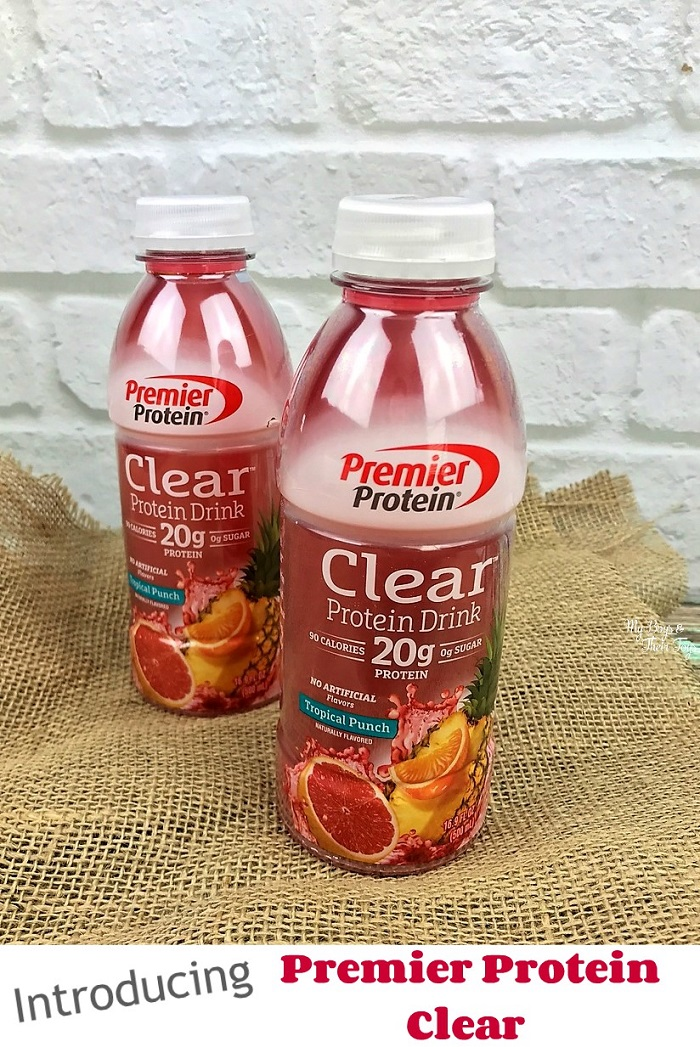 premier protein clear