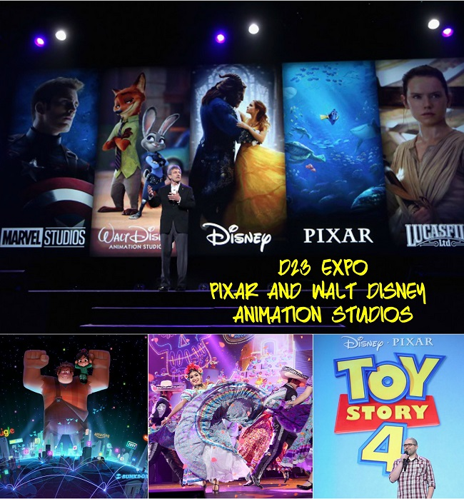Pixar and Walt Disney Animation Studios upcoming films