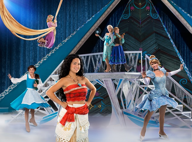 dare to dream disney on ice