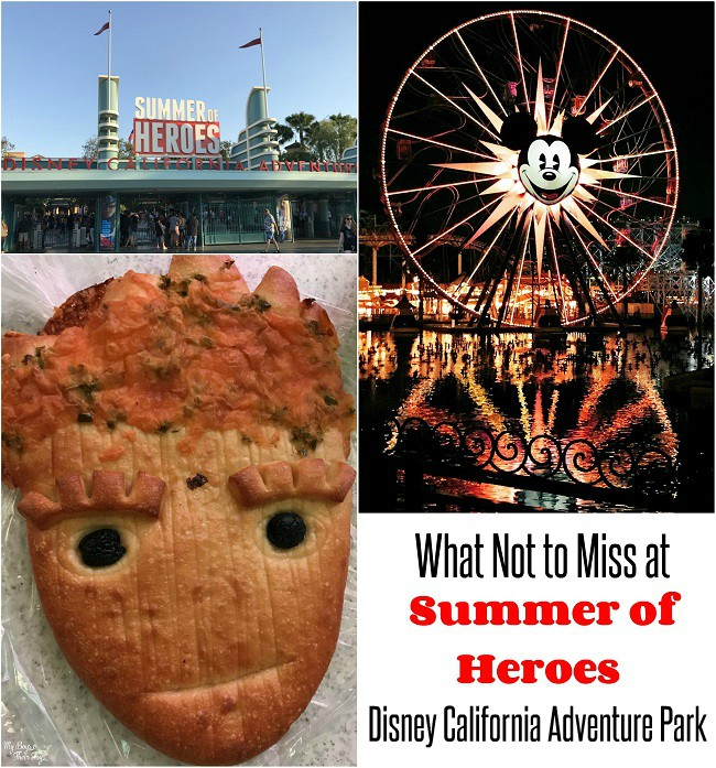 summer of heroes at disneyland california