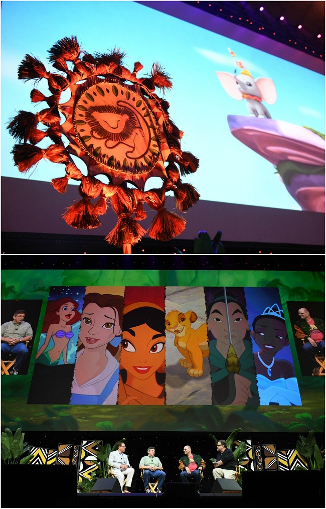 d23 expo lion king panel