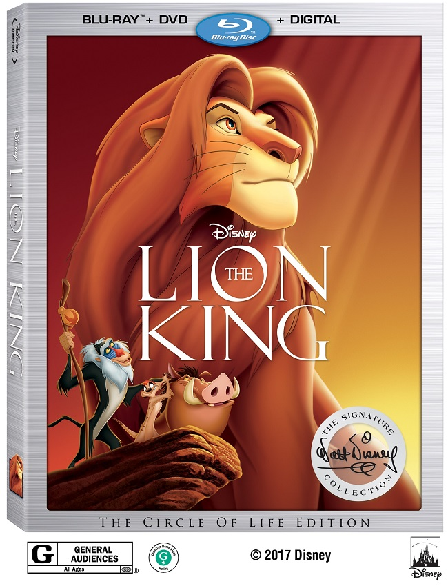 lion king blu-ray