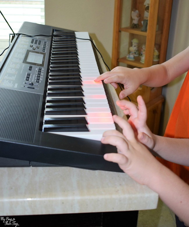 portable piano keyboard