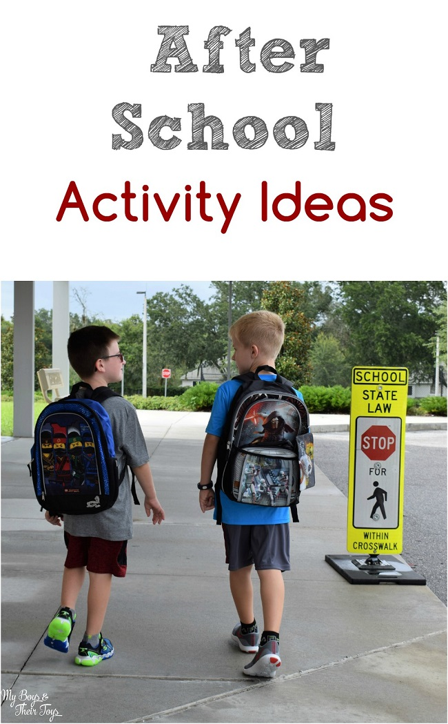 after school activity ideas