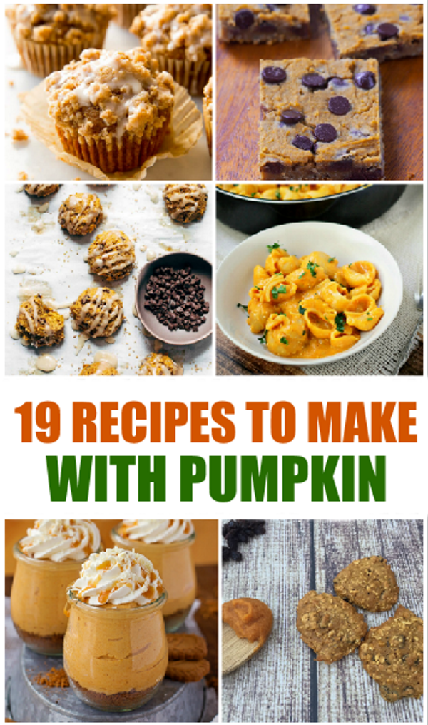 homemade pumpkin recipes