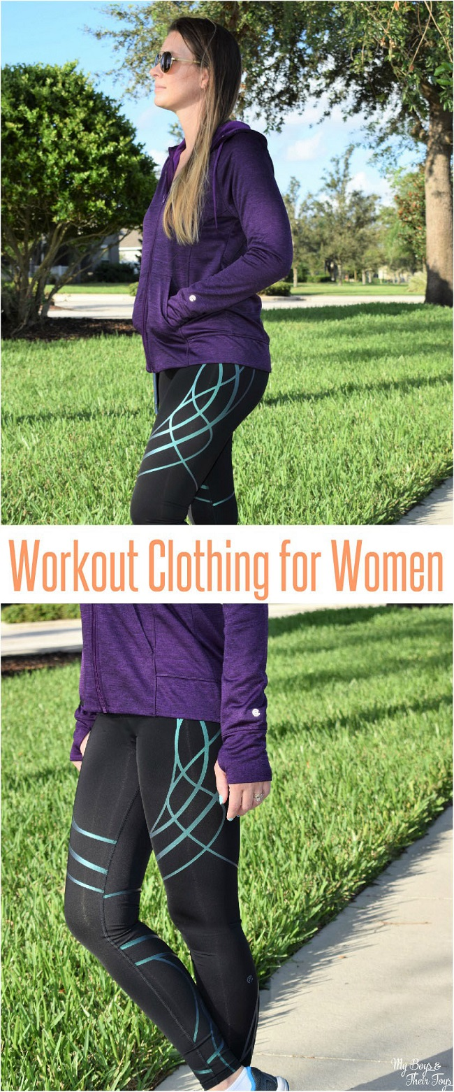 workout clothing for women collage