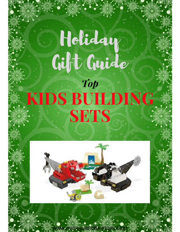 Holiday Gift Guide Kids Building Sets