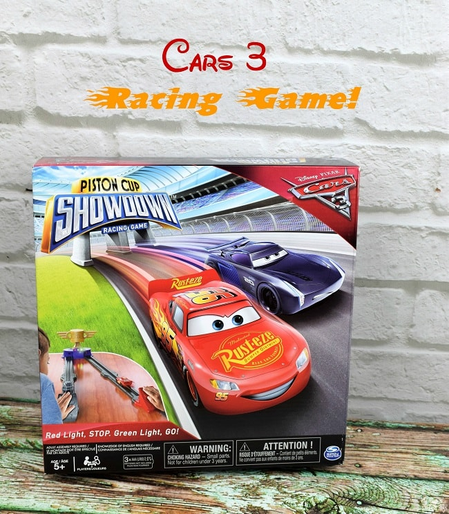 Piston Cup Showdown