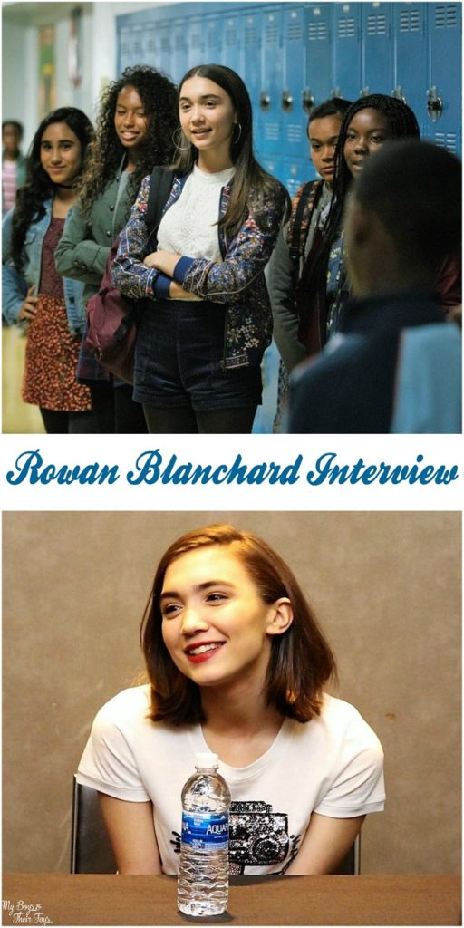 actress Rowan Blanchard interview