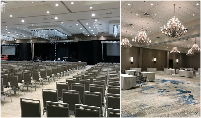 doubletree orlando meeting space