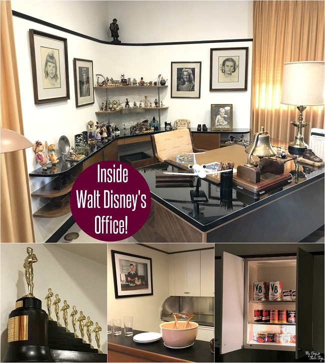 walt disneys office tour