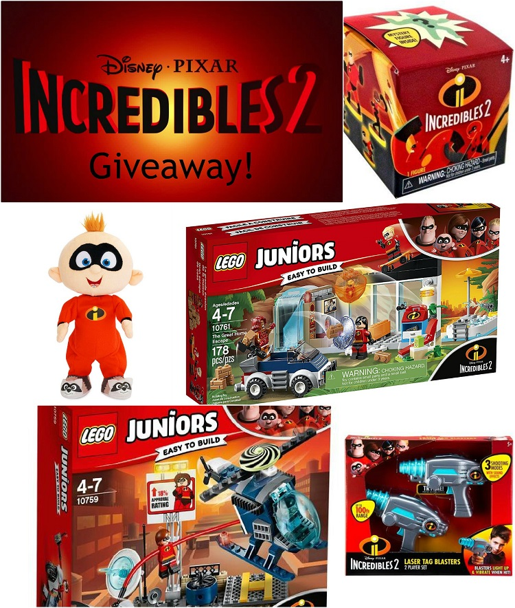 incredibles 2 toys giveaway