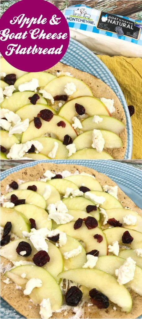 apple goat cheese flatbread