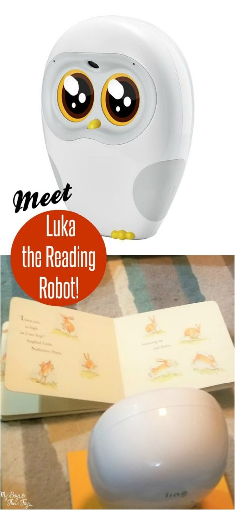 meet Luka reading robot
