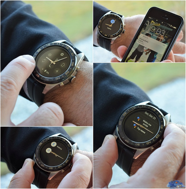 LG smartwatch features