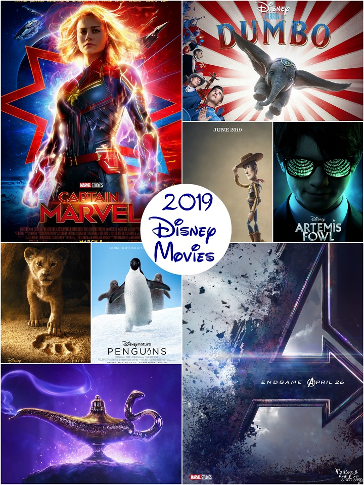 2019 disney movies list