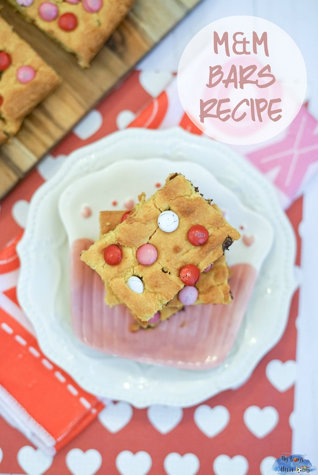 mm cake mix bars recipe