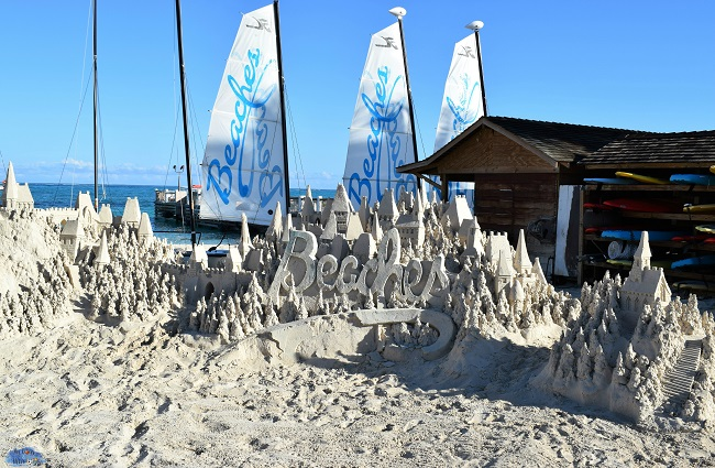 beaches sandcastle