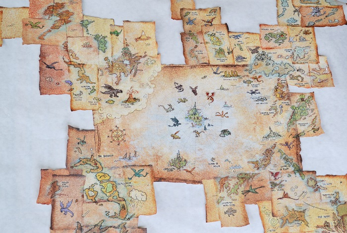how to train your dragon map